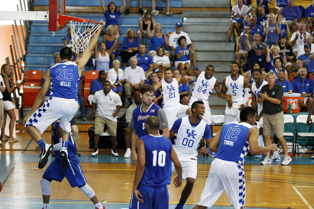 Image result for kentucky basketball bahamas trip 2014