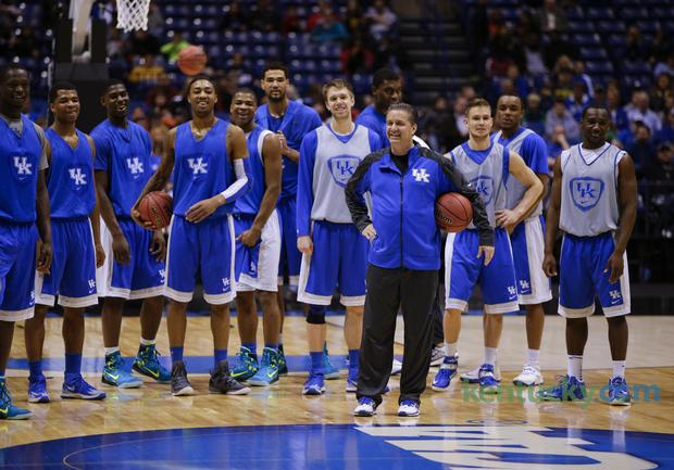 Kentucky Basketball 2014 Team Related Keywords &...